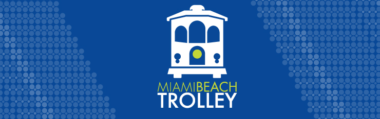 Miami Beach Trolley Banner