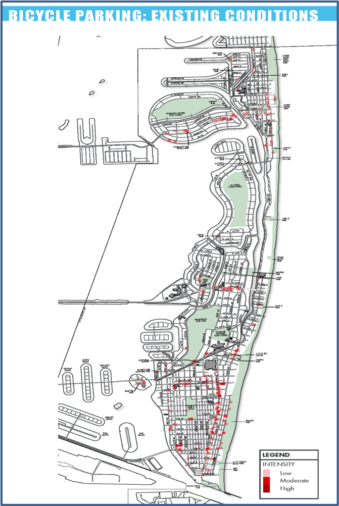pedestrians and bicycles | city of miami beach