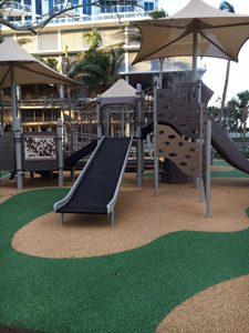 Playground Steps Slide