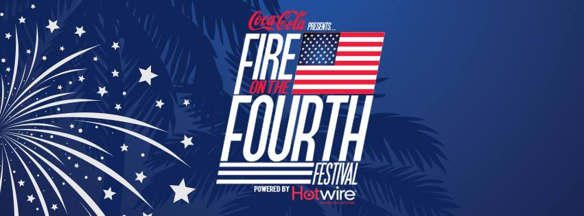 Coca-Cola & Hotwire Communications Present  Miami Beach Fire on the Fourth Festival