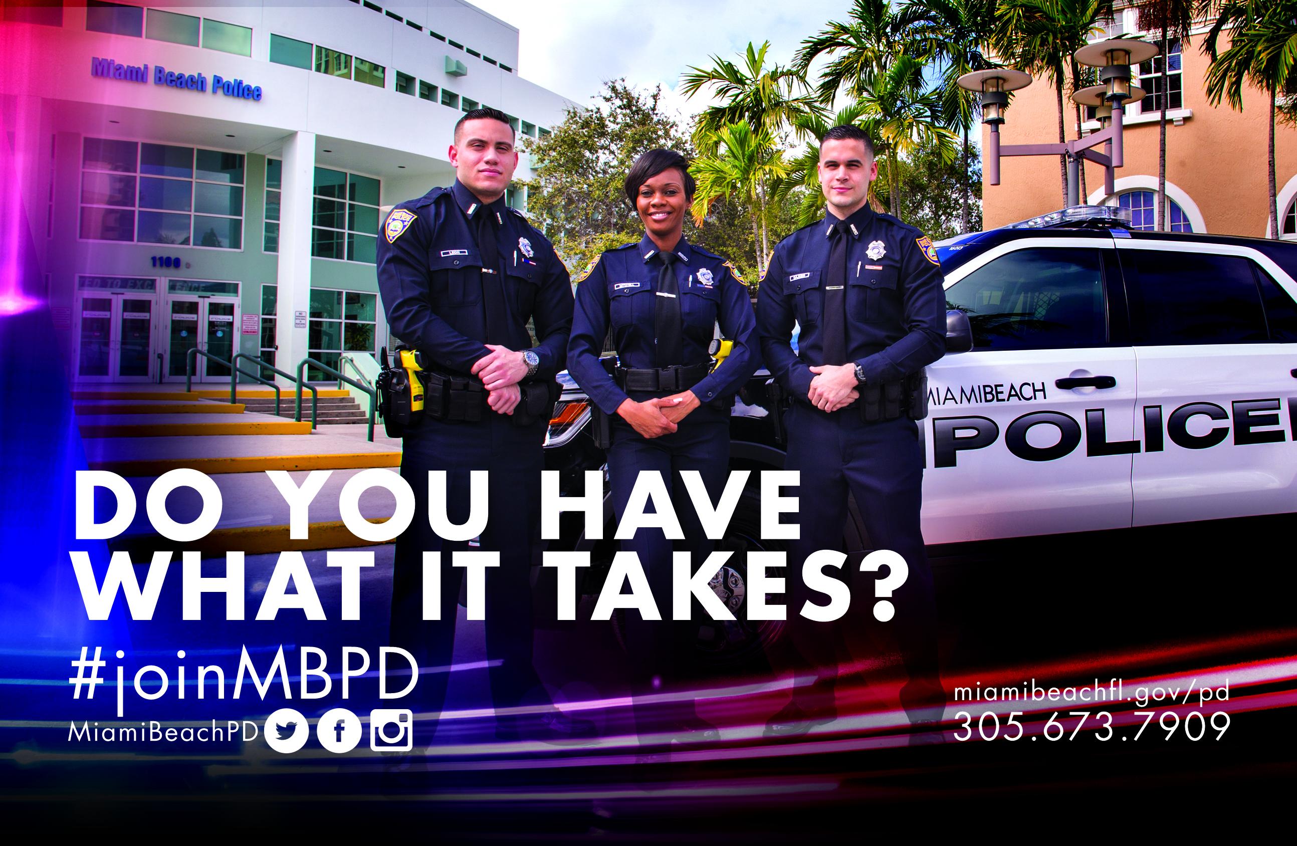 MBPD recruitment flyer