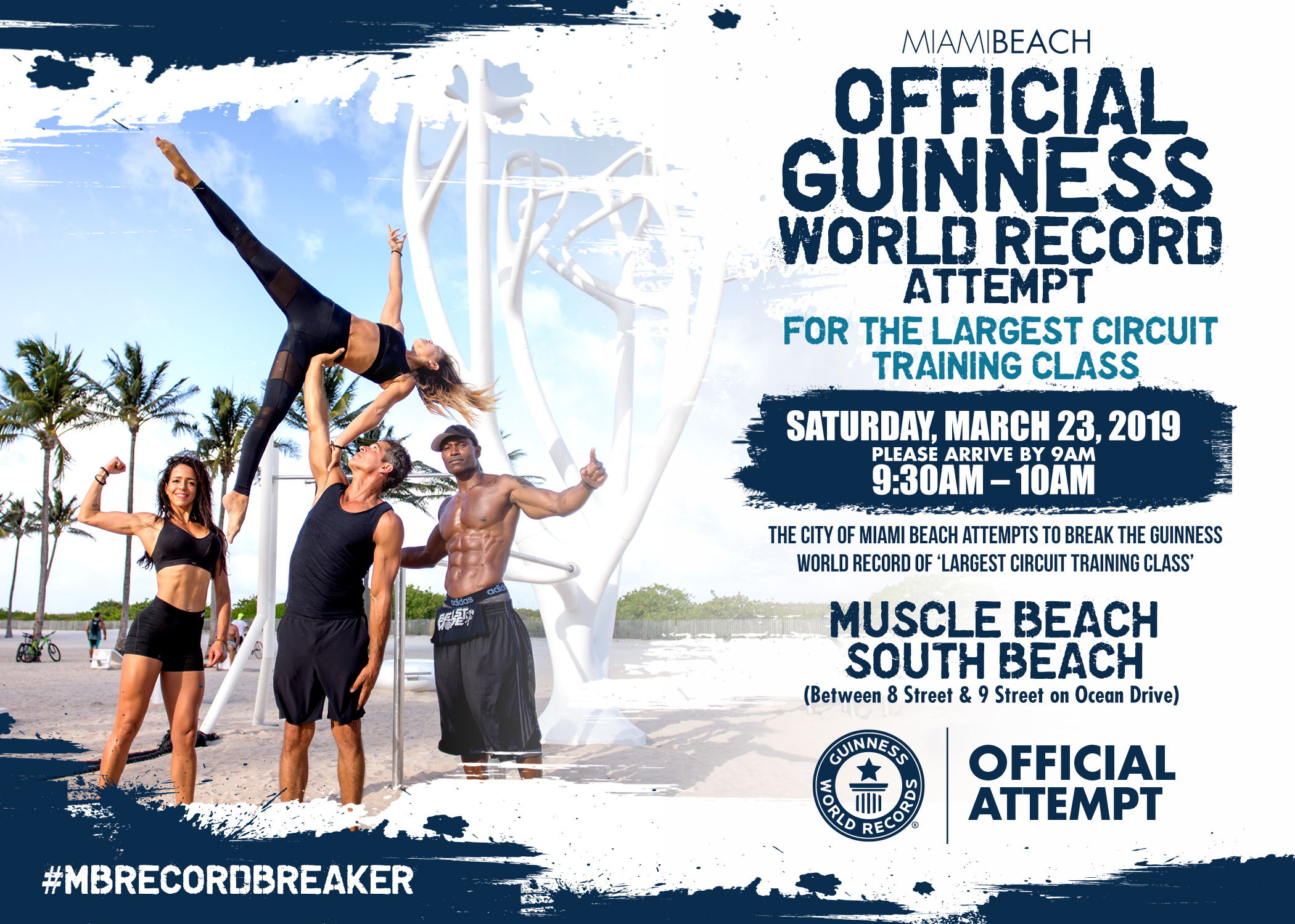 City of Miami Beach Attempts Guinness World Record!