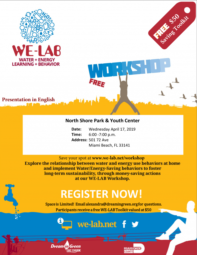 WE-LAB : Water, Energy & Recycling Workshop *Free $50 toolkit*