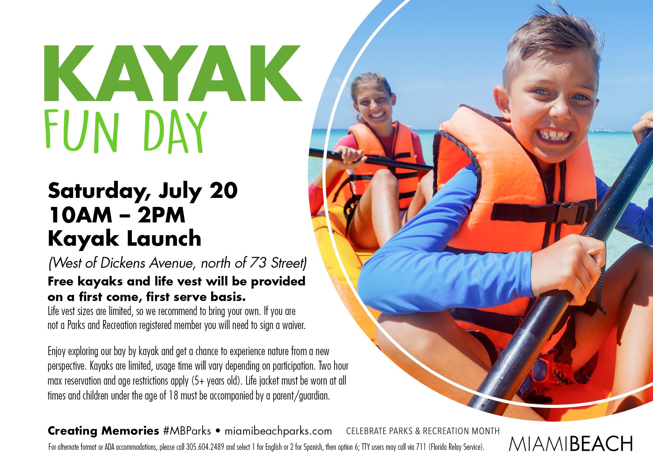 Kayak Fun Day