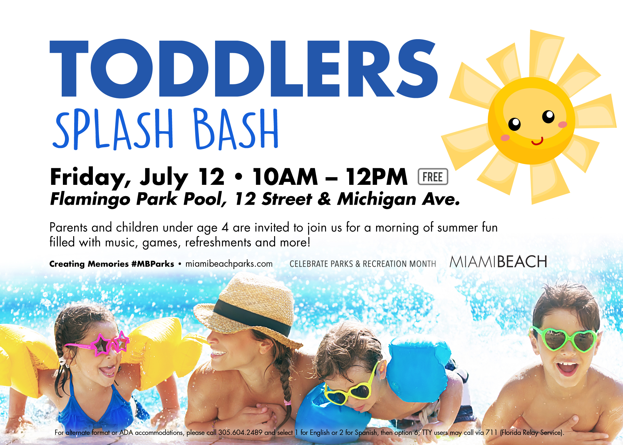 Splash Bash for Toddlers