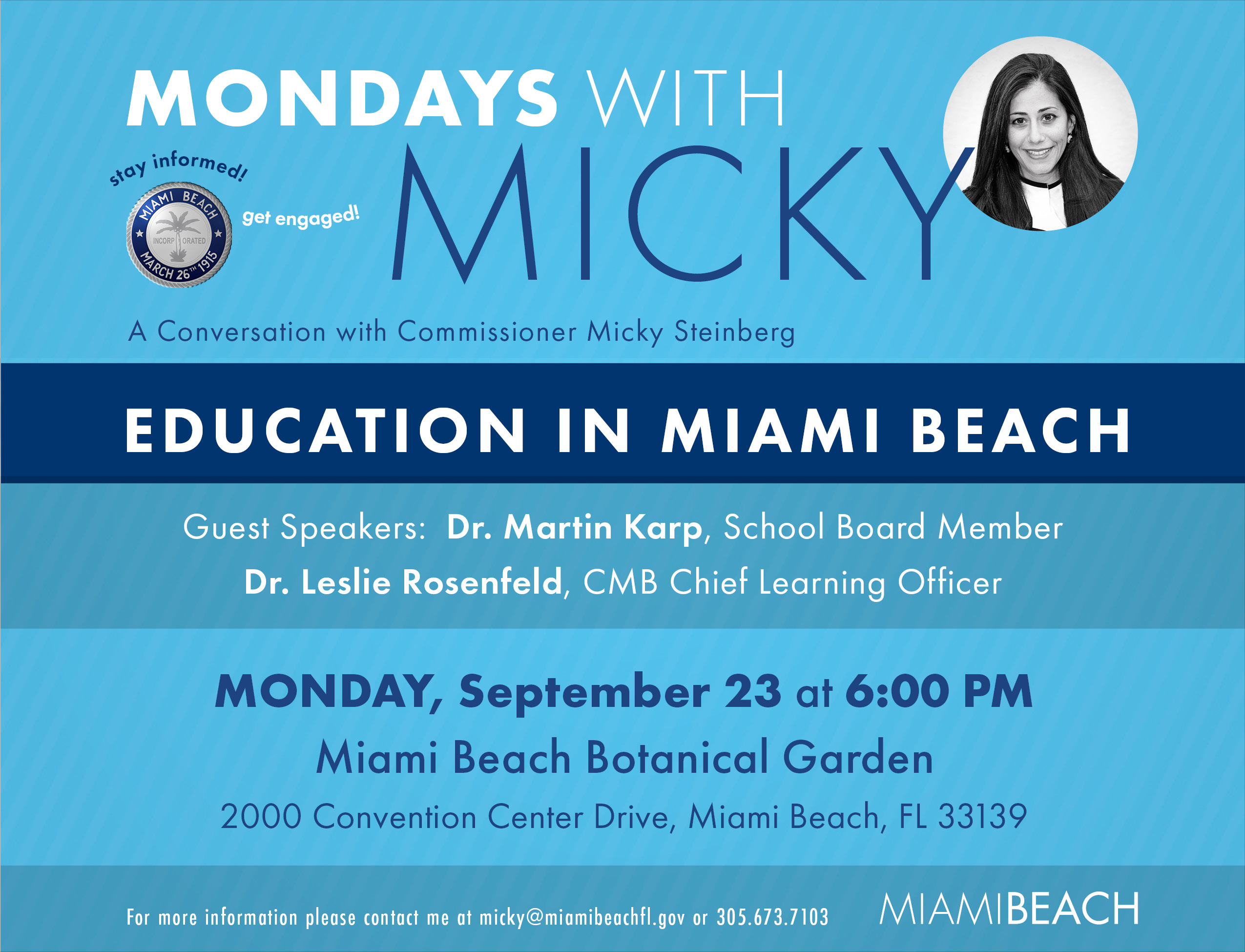 City of Miami Beach   The official website of the City of