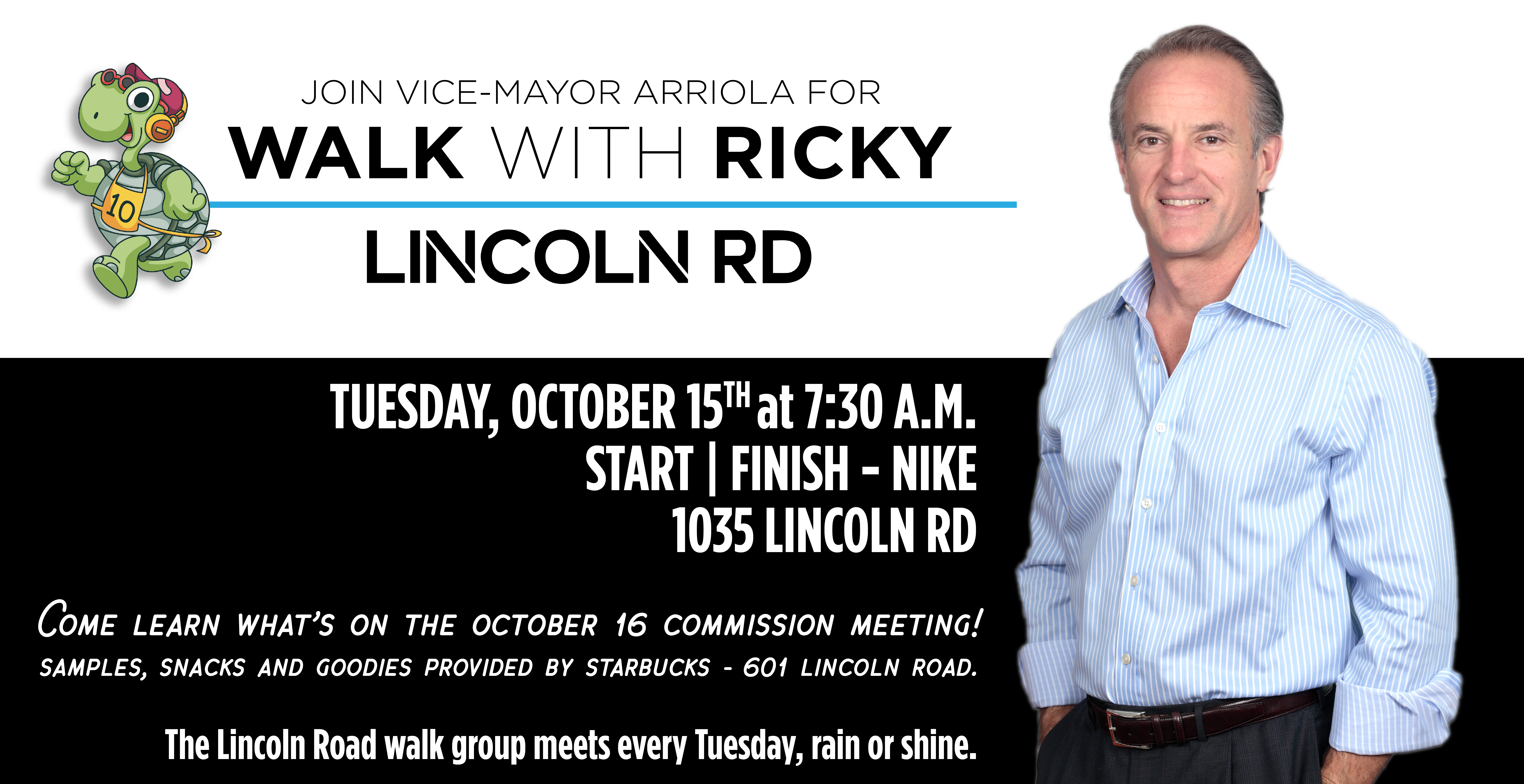 Walk with Ricky