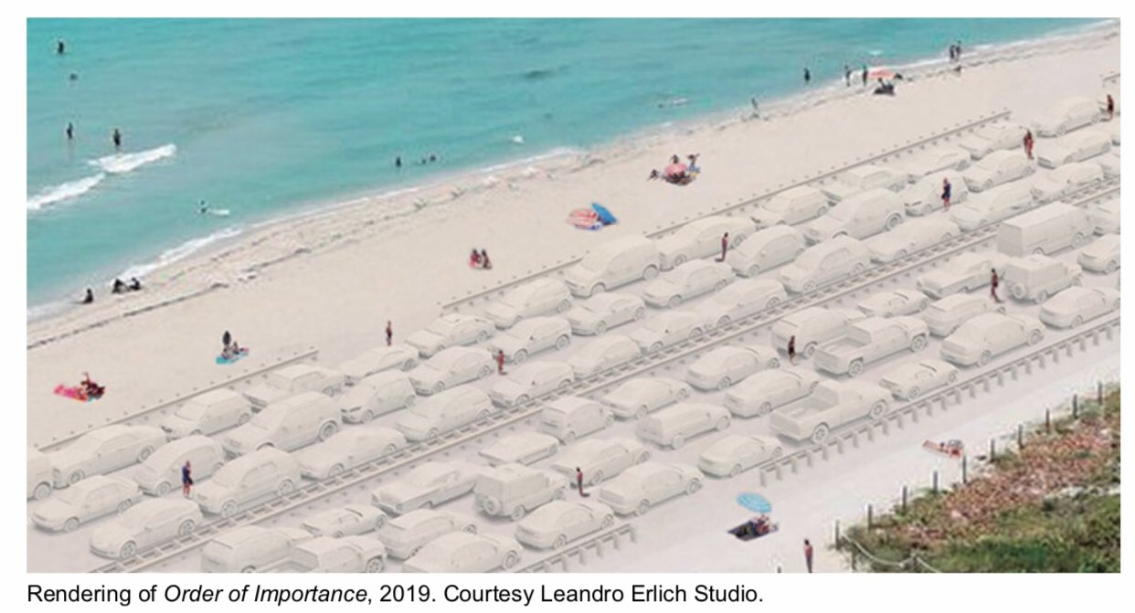 City of Miami Beach to Unveil A Monumental Temporary Sand-based Installation by Argentinian Artist Leandro Erlich