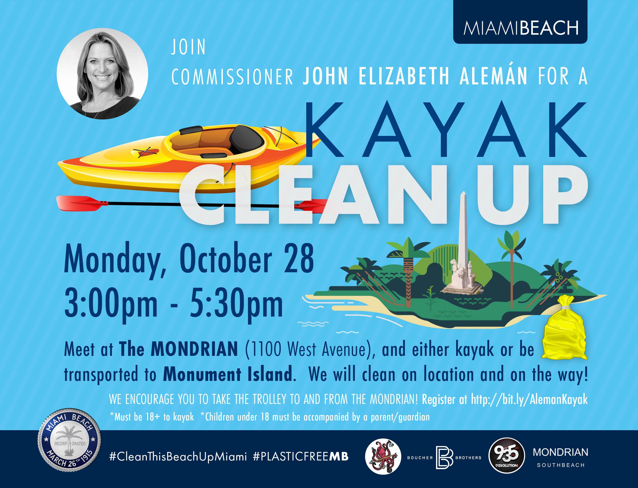 Kayak Clean up