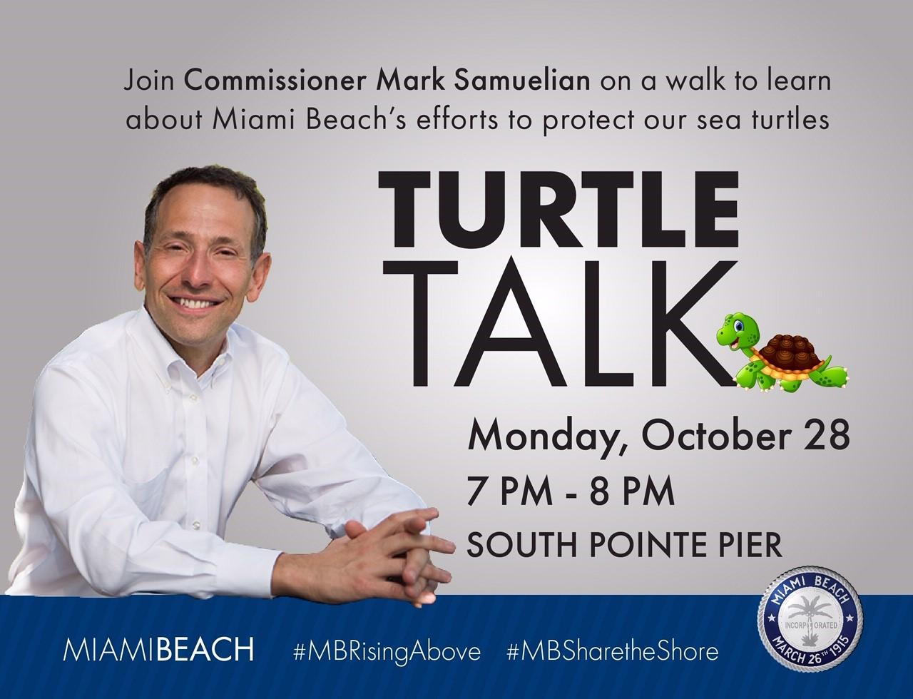 Turtle Talk with Commissioner Mark Samuelian