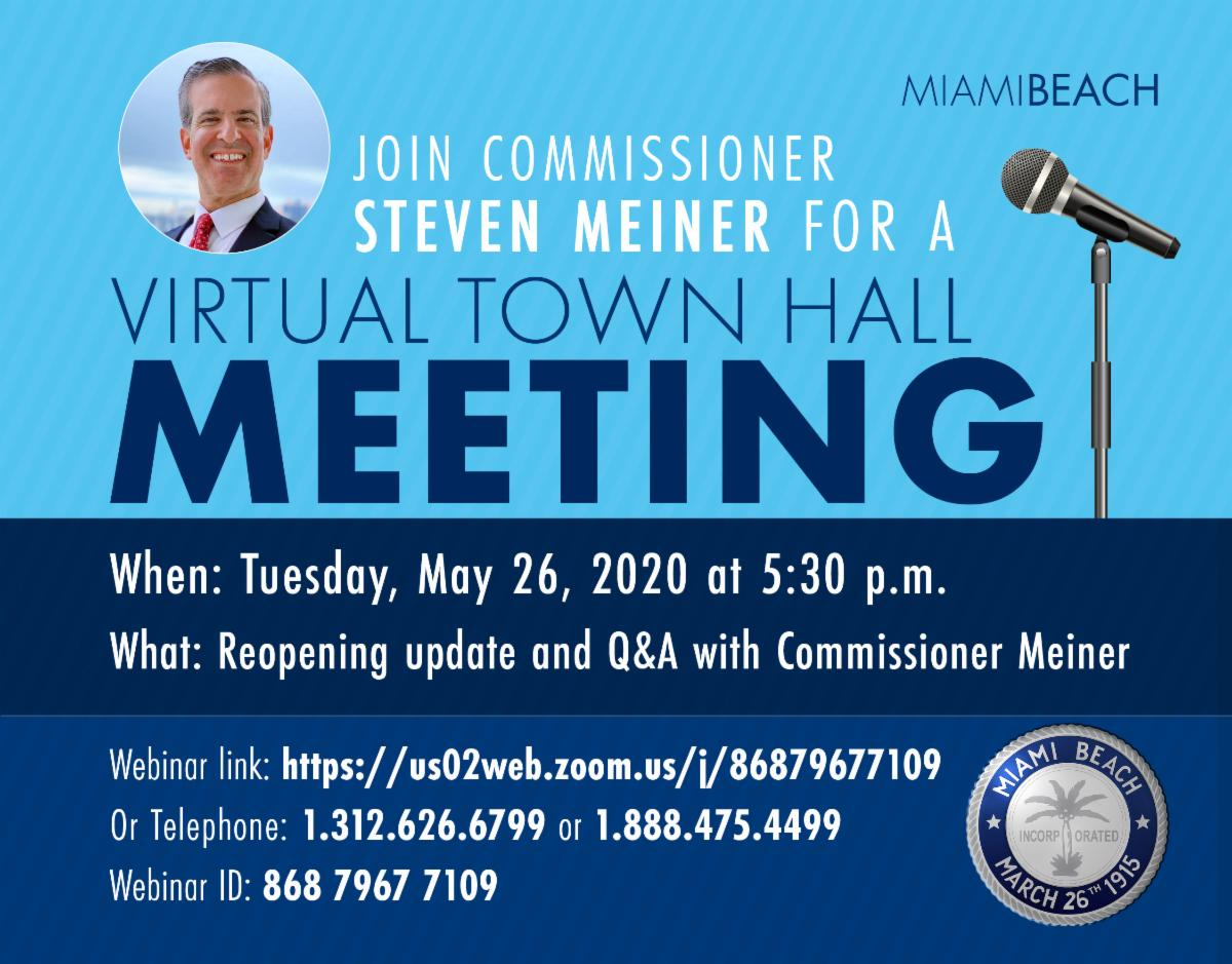 Town Hall with Commissioner Meiner