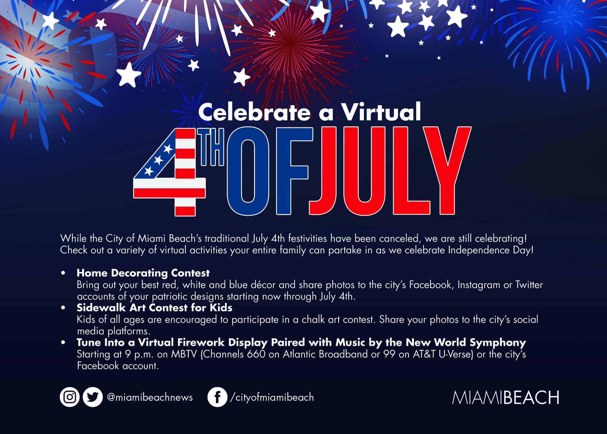 Virtual July 4th Celebration