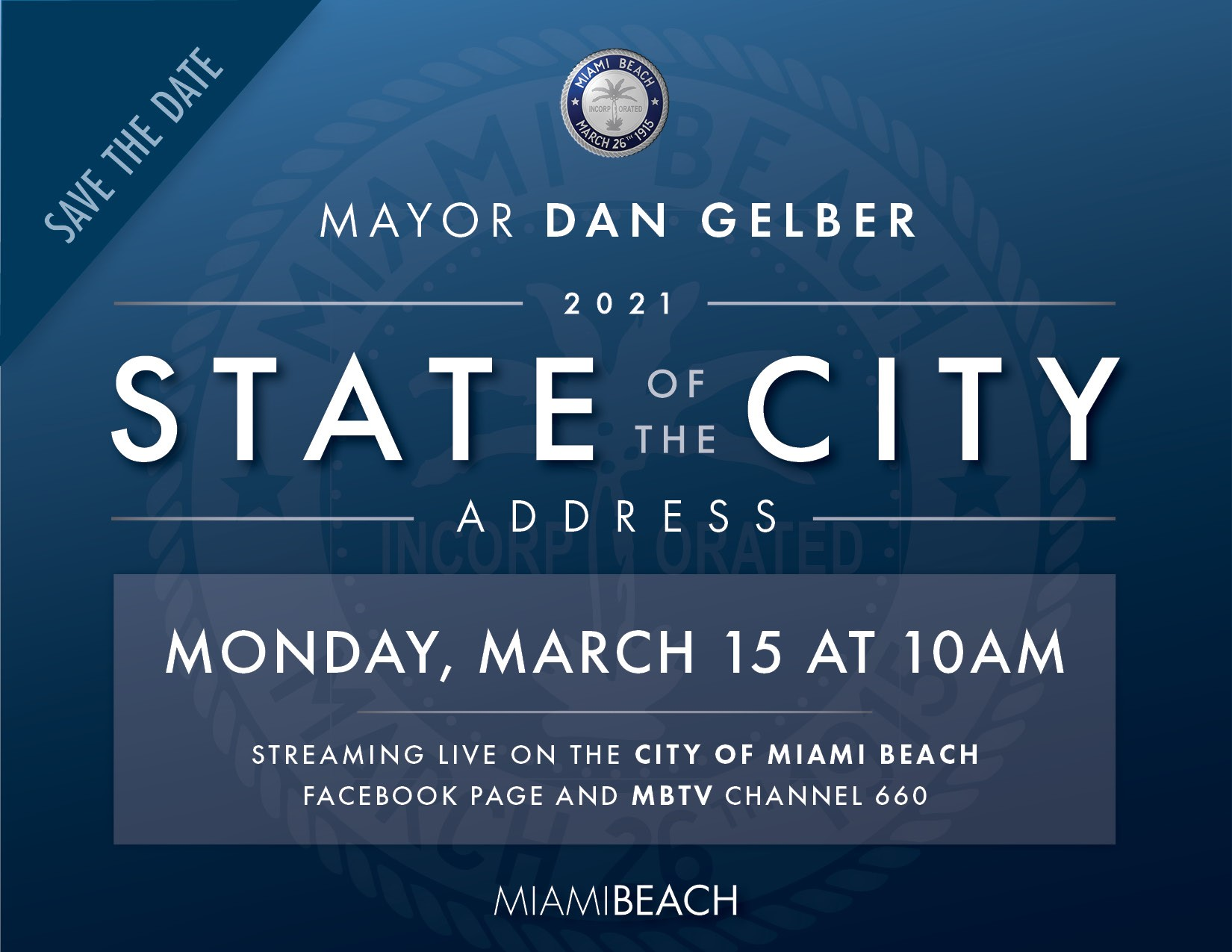 Miami Beach State of the City