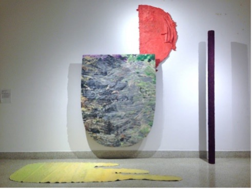 Installation exhibited at 7409 Collins Ave. by Carolina Cueva