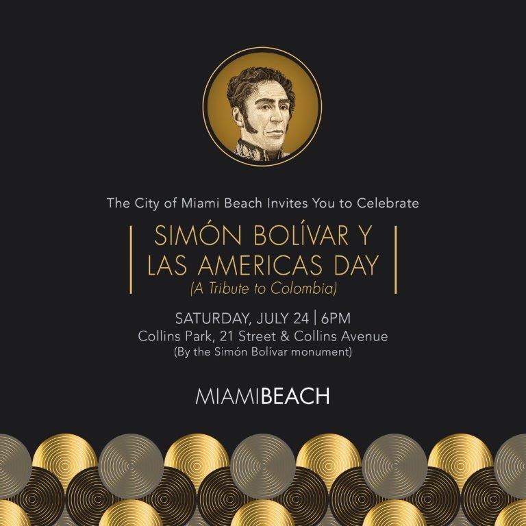 Simon Bolivar Y Las Americas Day