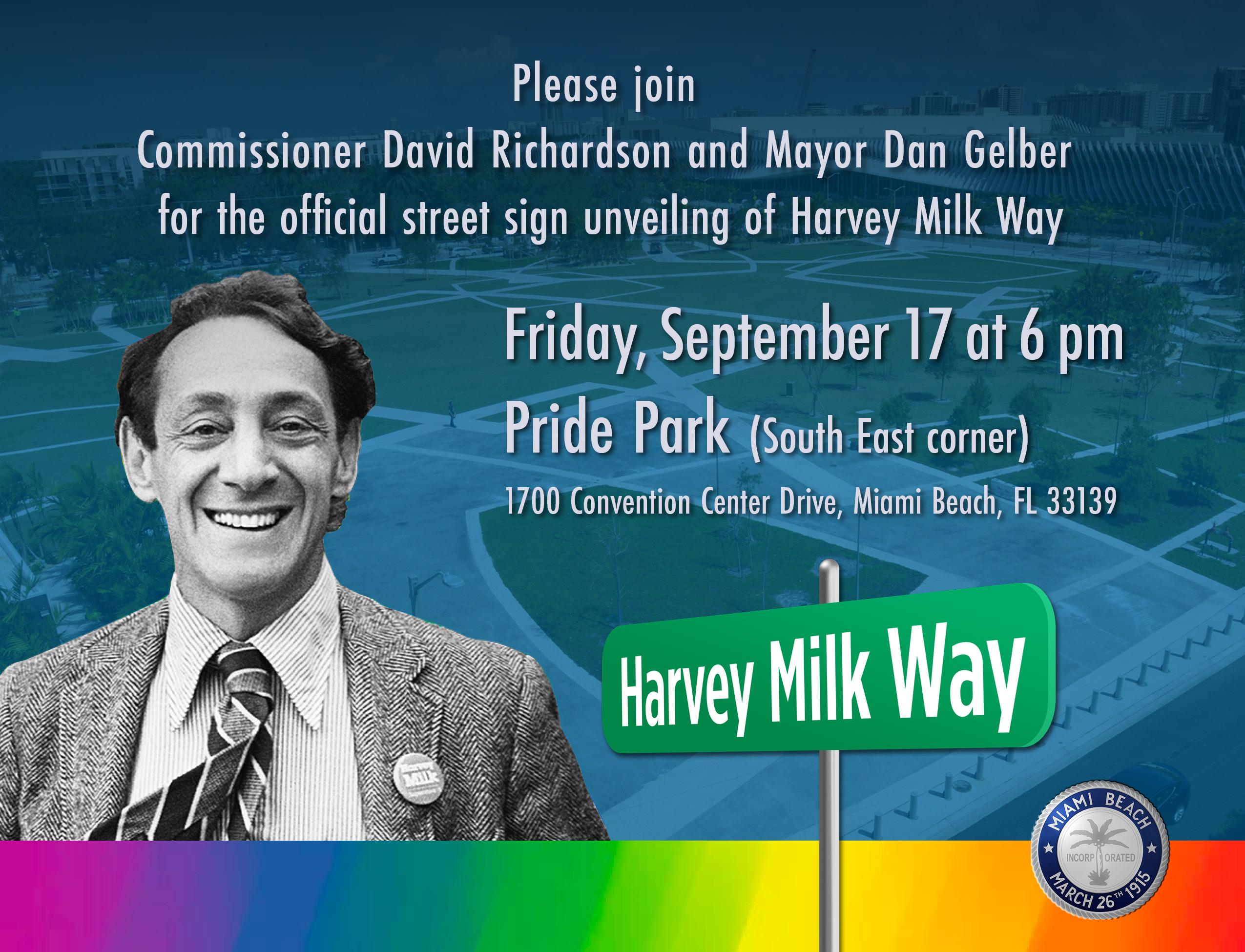 Harvey Milk Way Dedication Ceremony
